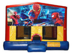 Spider-Man Plain Module Bounce House