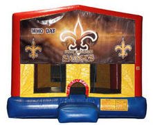 New Orleans Saints Plain Module Bounce House