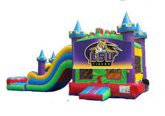 LSU King Castle Combo II Waterslide