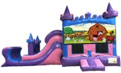 Animal Farm Princess Castle Combo