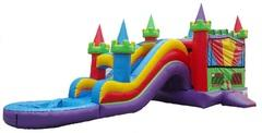KING CASTLE COMBO III WATERSLIDE