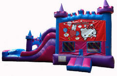 Hello Kitty Princess Castle Combo Waterslide