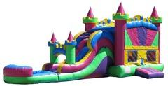 Queen Castle Combo Waterslide