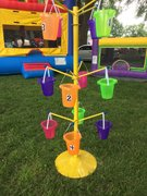 Bucket Toss Game