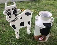Milk Can Toss Game