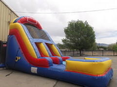 *16ft Giant Slide Wet