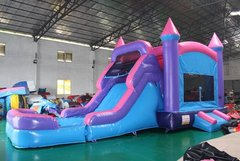 3N1 Pink and Purple Princess Castle Wet