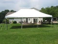 20x30 Outdoor party tent rental NJ