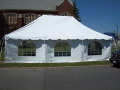 20x30 tent with sides