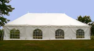 20x40 tent with cathedral sides