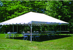 Commercial 20 x 30 White Party Tent