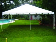 Commercial 20 x 20 White Party Tent