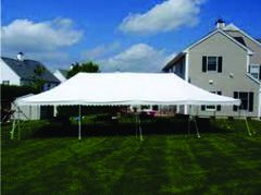 Commercial 20 x 40 White Party Tent