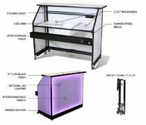 Portable Bar w/lights