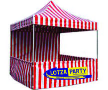 Bottle Ring Toss Carnival Tent