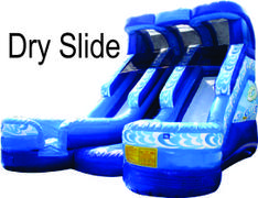 Dual Lane Mega Dry Slide