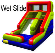 Summer Splash Fun Slide