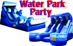 Backyard Waterpark Party