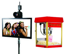 Photo Booth and Popcorn