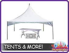 Tents Tables, Chairs and Equipment