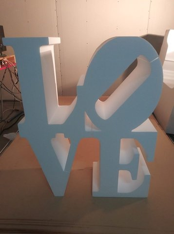 Letter Table - LOVE