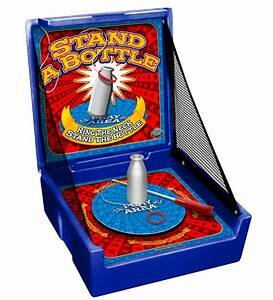 Stand the Bottle Carnival Game Rental