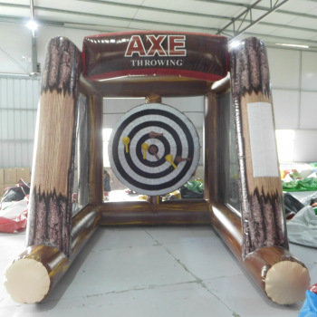 Inflatable Axe Throwing