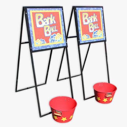 Bank Ball Carnival Game Rental