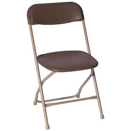 Brown Folding Chair Rentals