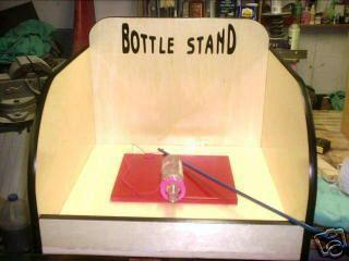 Bottle Stand Carnival Game
