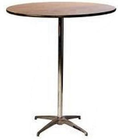 Hi Boy/Pedestal/Cocktail Table (30inch round)