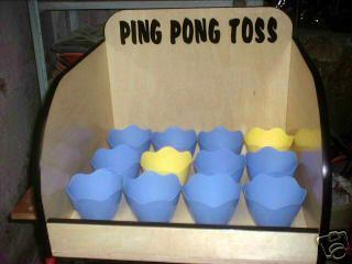 Ping Pong Toss Carnival Game Rental