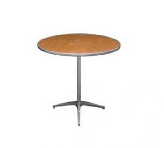 30 inch Round Table - Regular Table Height