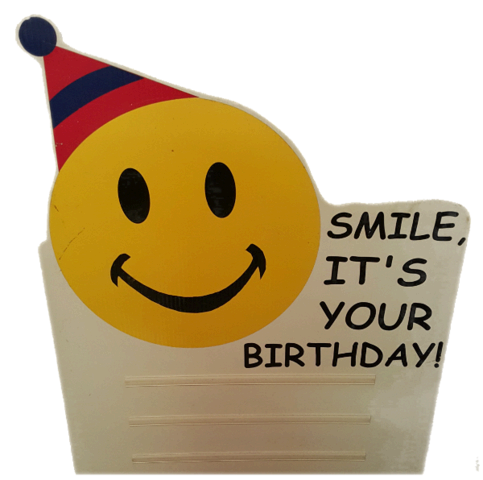 Smiley (Happy Birthday) Yard Sign