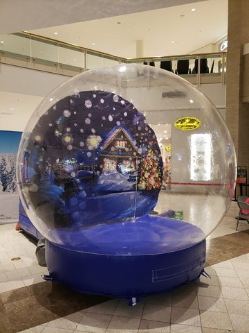 Inflatable Snow Globe / Fish Bowl