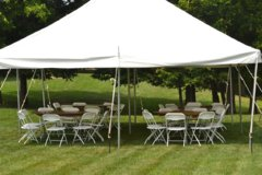 Economy Tent, Table & Chair Package