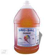 Orange Sno Cone Syrup w/50 cups