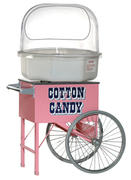 Cotton Candy Machine with Cart and Supplies