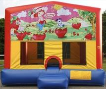 Strawberry Short Cake Bounce House