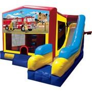 7-in-1 Firemen Themed Inflatables