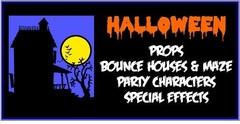 Halloween bounce rentals-props-costumes-special effects