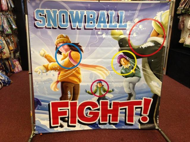 17 SNOW BALL FIGHT GAME