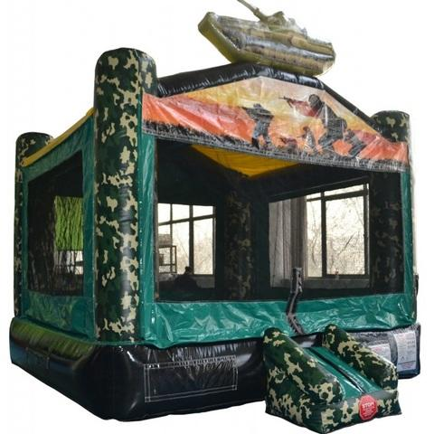 ARMY BOUNCE HOUSE
