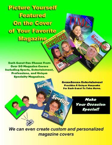 Green screen Magazine