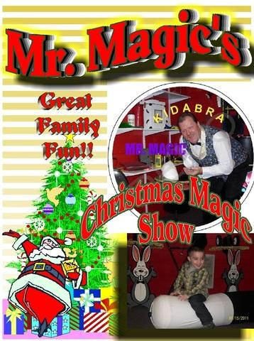 5.Mr. Magic Holiday Magic show