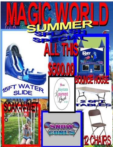 Summer Splash Special