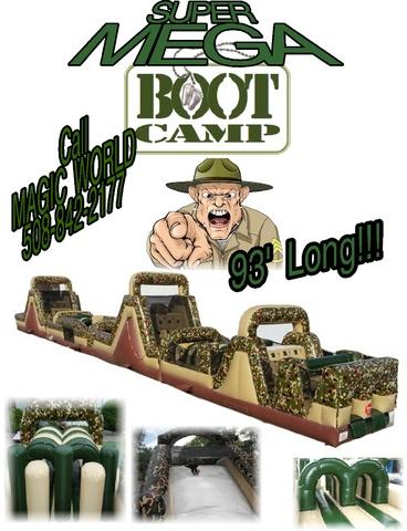 SUPER MEGA BOOT CAMP OBSTACLE COURSE