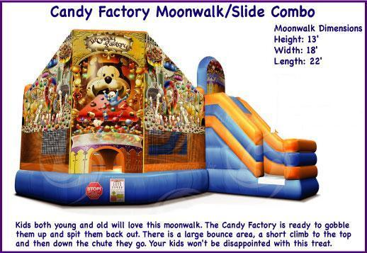 CANDY FACTORY COMBO BOUNCE