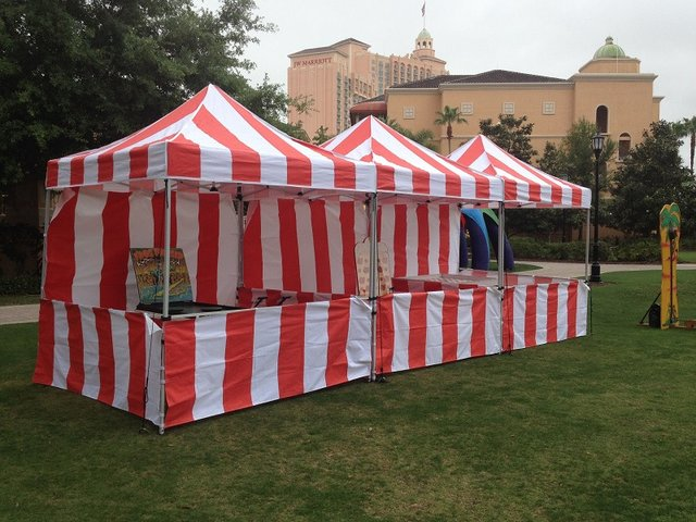 GAME TENTS