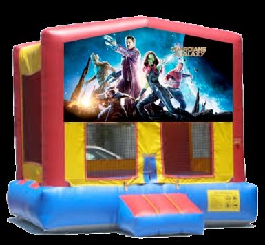 guardians of the galaxy bounce house